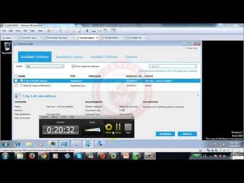 SCCM 2012 Part 8 SCCM Deploying Application and Troubleshooting