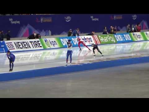 2017 세계 종목별 스피드 선수권대회ISU World Single Distances Championships 2017 Men`s 1500m