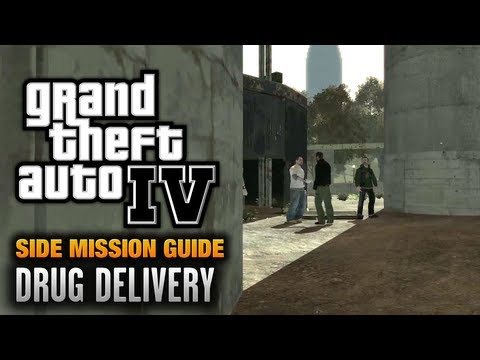 GTA 4 - Drug Delivery [Courier Service Achievement / Trophy] (1080p)
