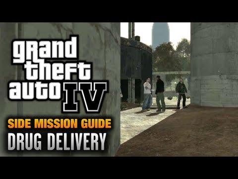 GTA 4 - Drug Delivery [Courier Service Achievement / Trophy] (1080p)
