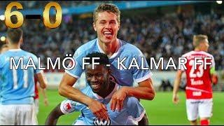 MALMÖ FF – KALMAR FF | 6-0 |ALL GOALS | HD 1080p