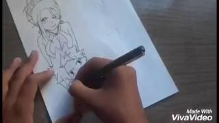Speed Drawings - Natsu And Lucy ( Fairy Tail)