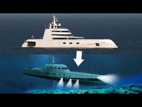 Secret Luxury Submarines Billionaires Have
