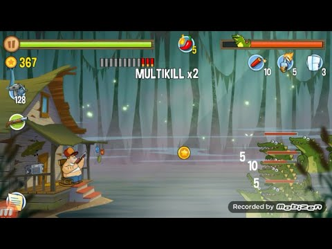 Swamp attack Lv 5-10 /TIKUS GOT GANGS 😆
