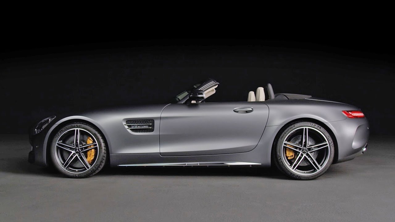MercedesAMG GT C Roadster Beauty Shots YouTube - Cool car shots