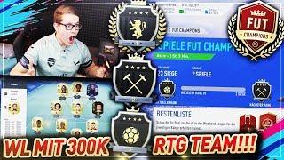 WAS ERREICHE ICH MIT 300K RTG TEAM IN FUT CHAMPIONS?? 🔥🔥 FIFA 19 Ultimate Team - Weekend League