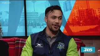 A Seattle Seawolves player, the host of 'Living It Up After 50' and a former PNB dancer join us for