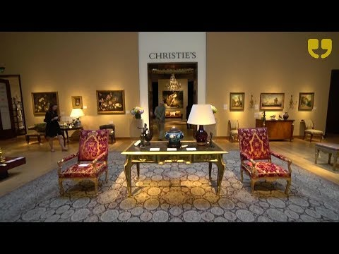 Christie's Rooms as Portraits Auction by Michael S. Smith