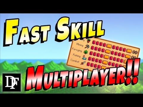 Fast Leveling Guide For Multiplayer! - Stardew Valley 1.3