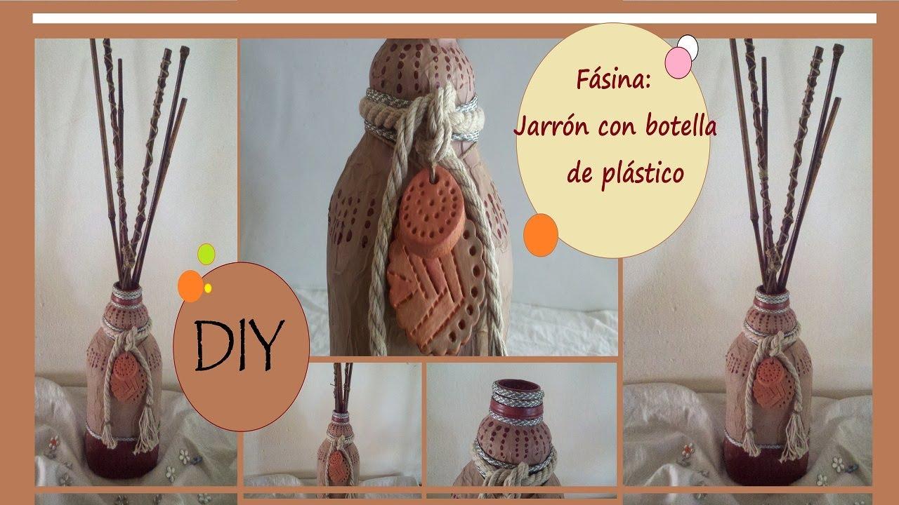 F sina diy como hacer un jarr n con botella de pl stico - Botellas de plastico manualidades ...