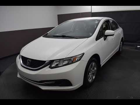 2015 Taffeta White Honda Civic 4D Sedan #N6885A