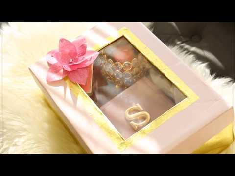 How to make Gift box from a Shoe box || DIY multipurpose cardboard organizer