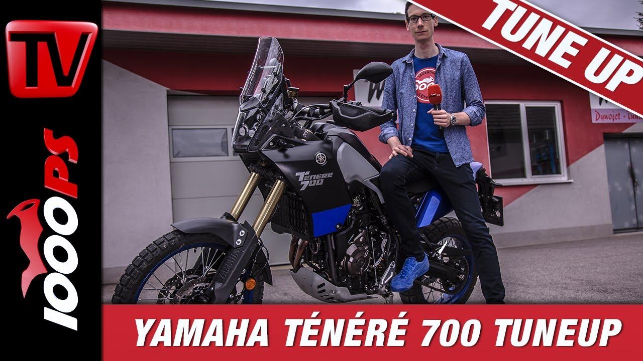 Yamaha Ténéré 700 TuneUp | Umbau Fahrwerk, Auspuff, Windschild, Ergonomie, etc.