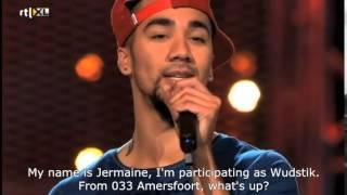 Voice of Holland - Wudstik full audition w English subtitles