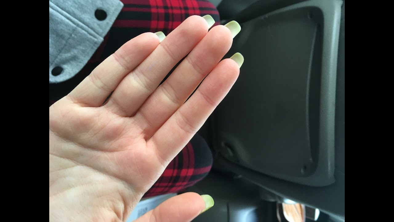 nail growth {0-3 months} - YouTube