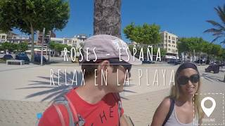 Roses - Playa Costa Brava, Girona - España - (Cataluña) 4K