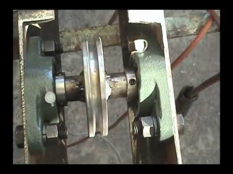 Elevador 10a2 estructura cuerpo para poleas de carga p for Sistema poleas para toldos