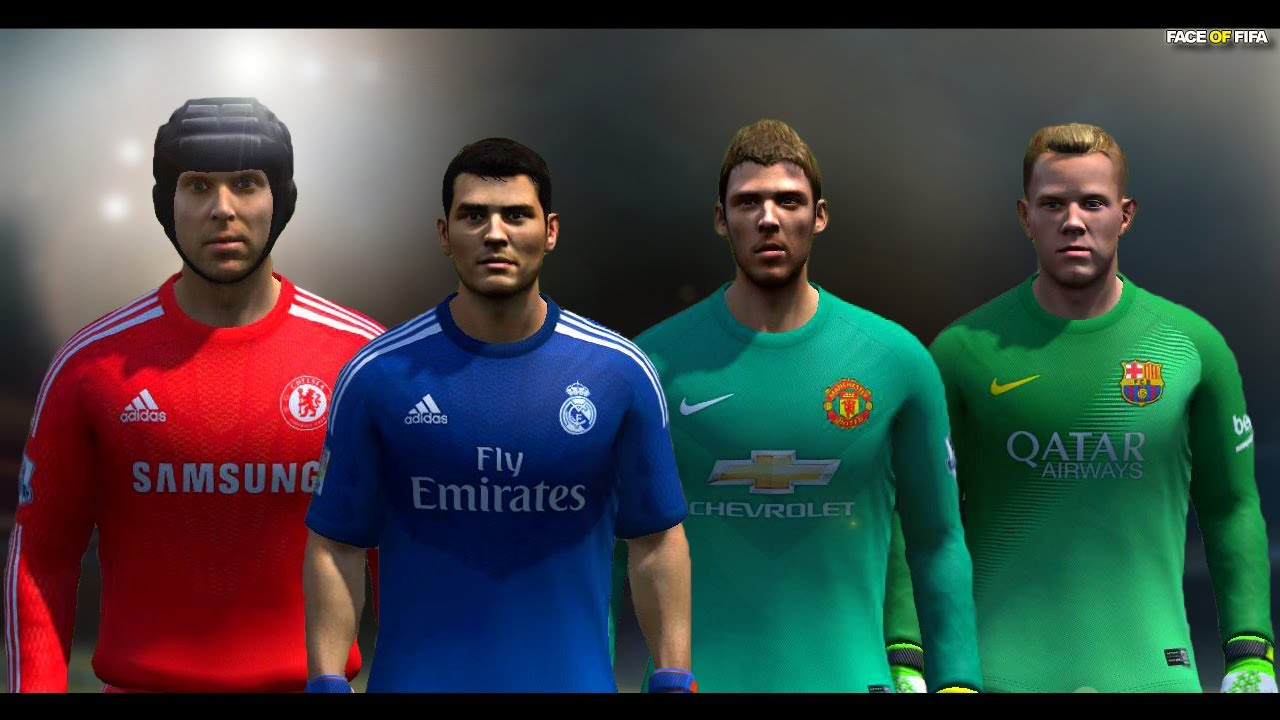 Fifa 15 Battle Goalkeeper Kit Nike Vs Adidas Youtube
