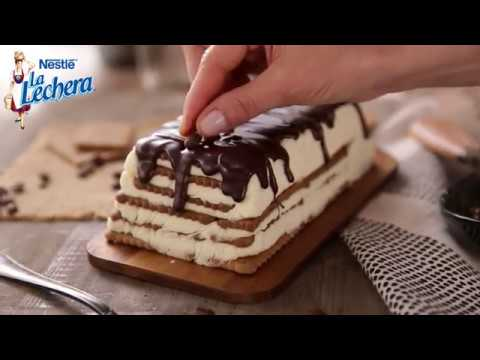 Tarta De Galletas Y Café Postres La Lechera Youtube