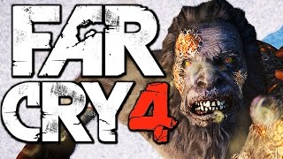 Far Cry 4 - KILLING A YETI (Far Cry 4 Valley of the Yetis DLC) (Far Cry 4 Funny Moments)