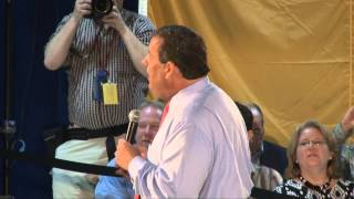 Governor Christie: They Tell Me People Like You Don