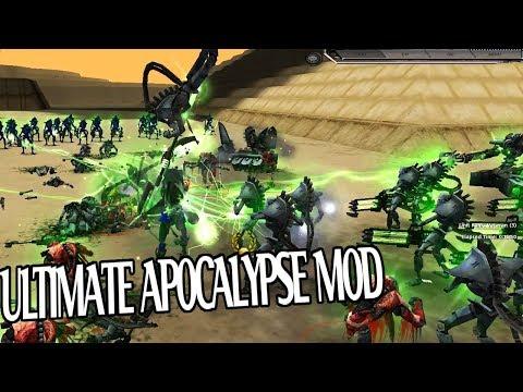 Telling Insane AI I`m THE ULTIMATE NECRONS Ultimate Apocalypse Mod