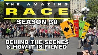 Behind the Scenes of Amazing Race Season 30