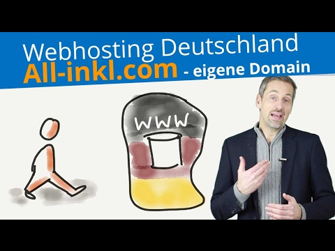 Web Hosting Deutschland mit All-Inkl.com | Wordpress eigene Domain 💢 2018