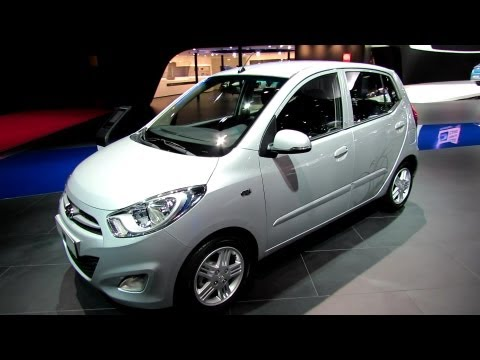 2013 Hyundai i10 Exterior and Interior Walkaround 2012 Paris Auto Show Mondial de l Automobile