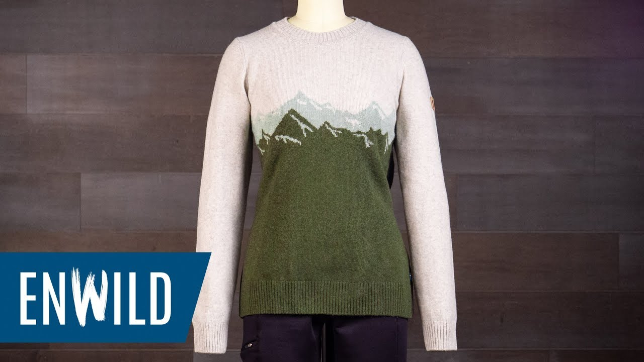 Fjallraven Women's Greenland Re Wool View Sweater