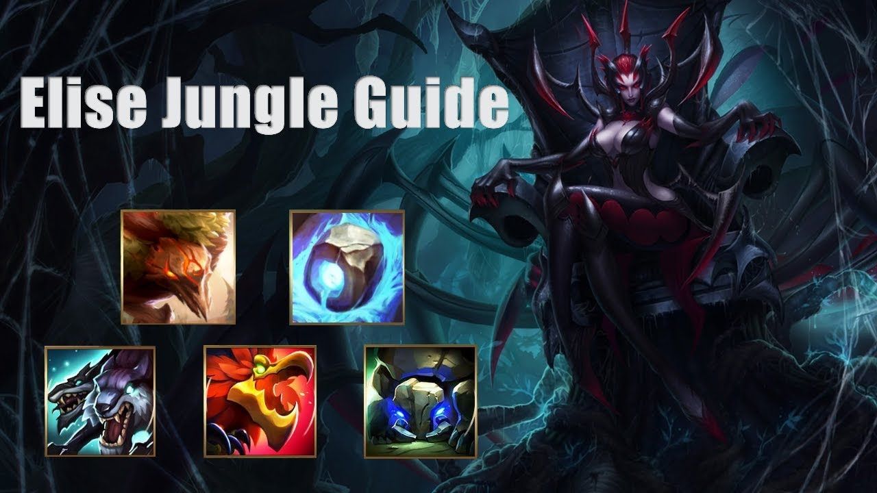 Lol best elise jungle | how to elise | replay elise full game.