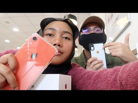 UNBOXING IPHONE XR WHITE & CORAL 🤯