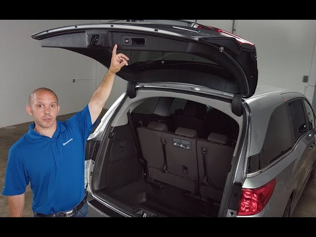 2018 Honda Odyssey Tips & Tricks: Power Liftgate Adjustable Height