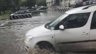 Затопление ул. Островского в Нижнем Тагиле, 30 июня, 2017 г. Второй ракурс
