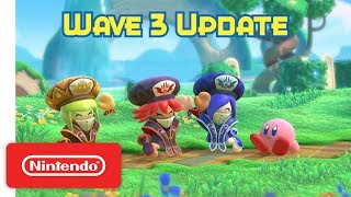 Download Kirby Star Allies: Wave 3 Update - The Three Mage Sisters Work Their Magic! - Nintendo Switch Mp3 and Videos
