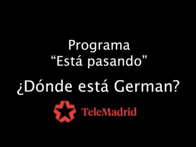 TeleMadrid visita Sevilla la Nueva con ¿Dónde está Germán?