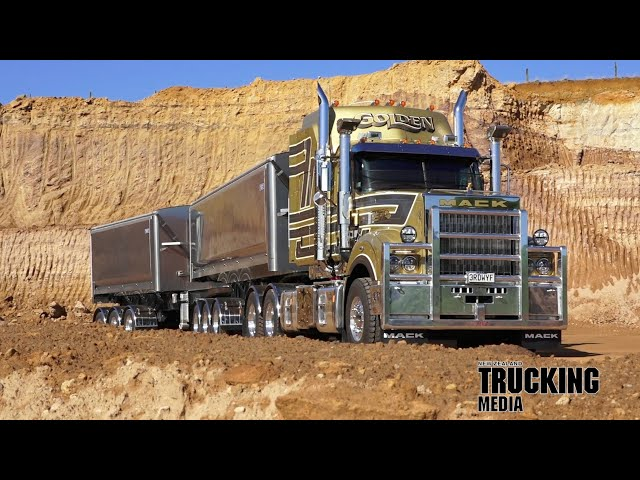 Truck Test | Mack Super Liner CLX64T 100-Year anniversary limited-edition | Big Journeys
