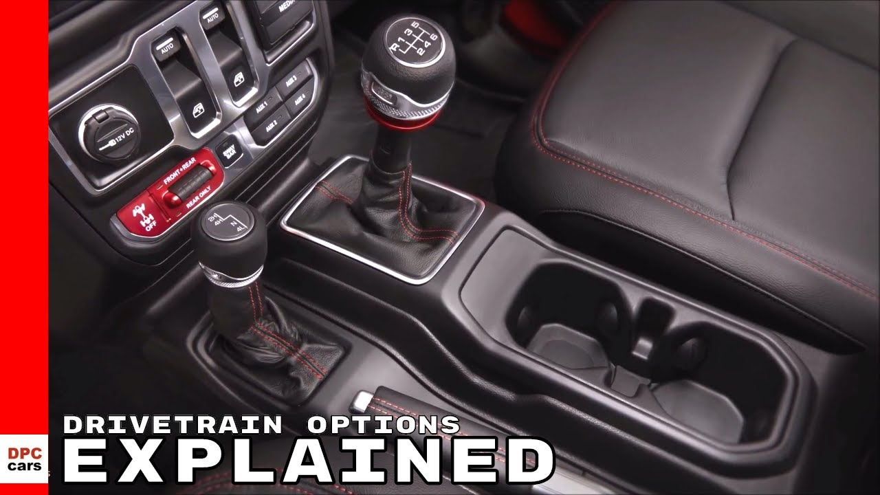 hight resolution of 2018 jeep wrangler drivetrain options explained