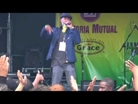 Singer D at Jamaica 55 years Independence Victoria Square Birmingham