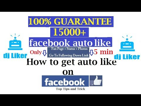 How to Get 5000 more Likes on Facebook Instantly? increase fb likes app -  Really fb auto liker