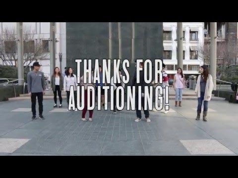 [AFX Spring 2016] Thanks for Auditioning!