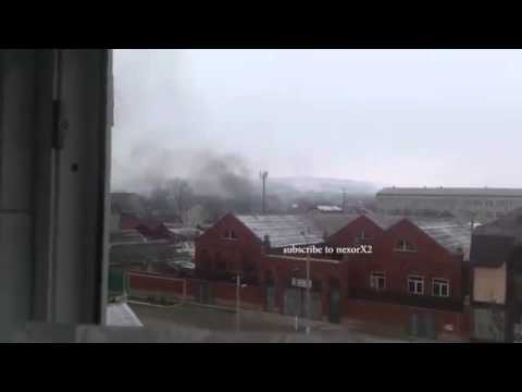 Grozny   Russia Chechnya News  Battle  Russian soldiers attack school  Heavy fighting in Grozny