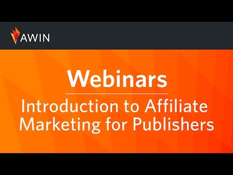 Introduction To Affiliate Marketing For Publishers