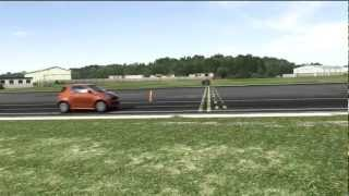 Aston Martin Cygnet Top Gear Track