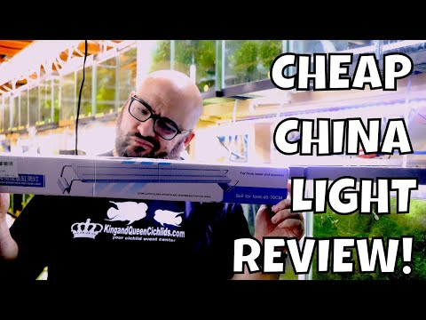 Cheap China LED Aquarium Light Review! Is It JUNK?