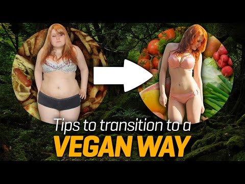 Tips on how to transition to a vegan lifestyle