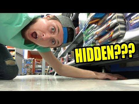 MIDNIGHT HIDDEN POKEMON CARD SEARCHING IN THE STORE! FINDING PACKS #29