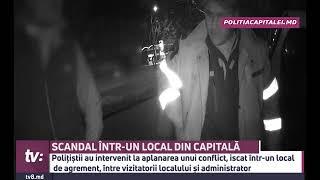 SCANDAL ÎNTR-UN LOCAL DIN CAPITALĂ