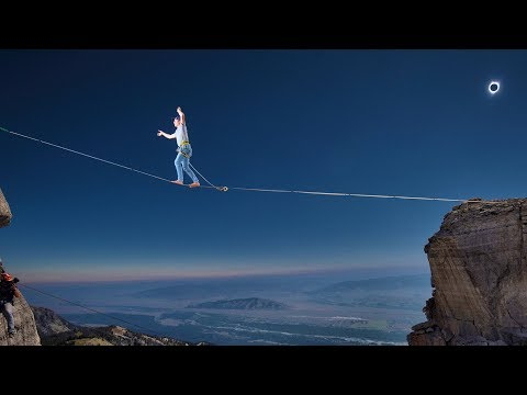 Align: Highlining the solar eclipse with Alex Mason