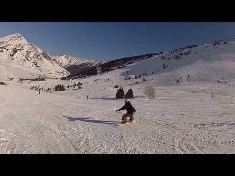 WOMEN SNOWBOARD FLAT TRICKS